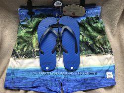 Шорты-плавательные оригинал бренд Англия новые пляжные