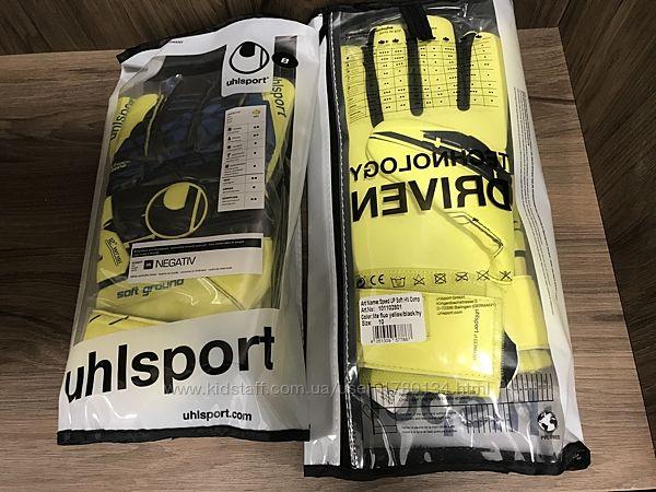 Перчатки вратарские футбольные оригинал новые