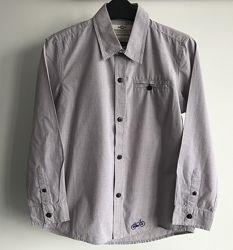 Рубашка Zara 5-6лет, 118см