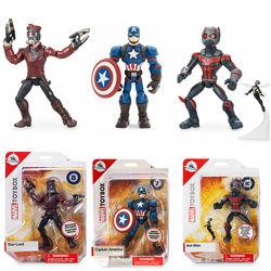 Игровые фигурки Человек-муравей, Капитан Америка, Звездный Лорд Marvel Disney
