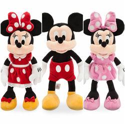 Плюшевая игрушка Микки Маус, Минни Маус - 46 см, Disney