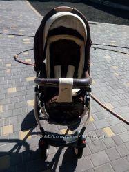 Дитяча коляска 2в1 Riko Brano Ecco Chocolate