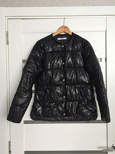Стеганая стильная куртка курточка демисезонная легкая утеплённая Mango S M