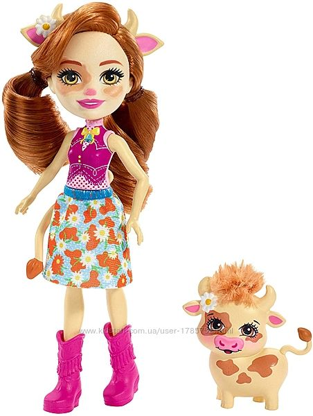 Куколки Enchantimals все в наличии-оригинал  Tanzie, Winsley , Bree