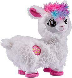 Танцующая ламма от Zuru. Pets Alive Boppi Shakin Llama Battery