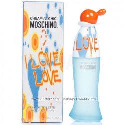 Moschino парфюмерия оригинал, полный ассортимент, Италия.
