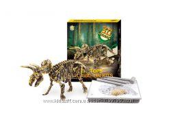 Раскопки Динозавров Трицератопс, Triceratops Excavation Kit, археология