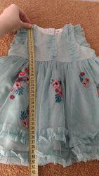 Ціну знижено шикарне плаття h&m для вашої принцеси 68см