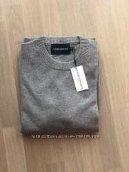 Calvin Klein свитер мужской, кофта, размер L, шерсть мериноса. Кельвин кляй