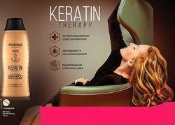 Шампунь с кератином Keratin Therapy Farmasi