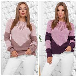 Хит сезона нежнейший свитер - 7  расцветок 46-52