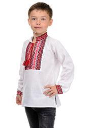 Рубашка - вышиванка  на  мальчика