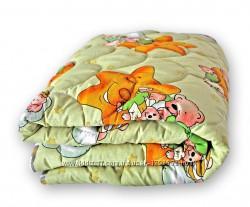 Одеяло детское  шерстяное QSLEEP 140х105 см Украина