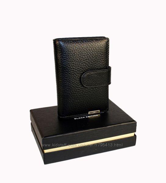 Визитница мужская карманная - в подарочной коробке