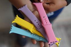 Ремешок для Apple Watch Sport Band силиконовый
