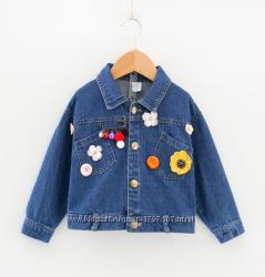 Новая очень стильная детская джинсовая куртка