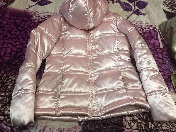 Деми куртка 158 р на флисе