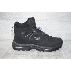 730 d-6 Мужские зимние кожаные ботинки Bona распродажа последних размеров