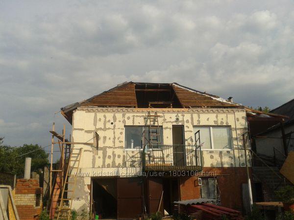 Реконструкция домов, изменение планировки, изменение дизайна здания