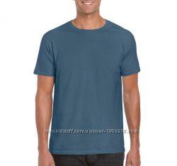 Мужская хлопковая футболка Gildan ms64000nv