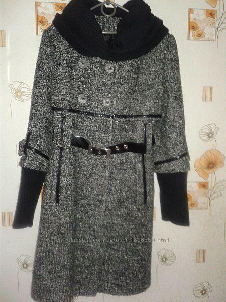 Пальто женское, зимнее, размер 46 М
