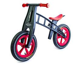 Велобег Balance Trike надувные колеса красный