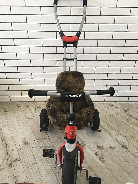 Продаётся трехколёсный велосипед с меховой накладкой Puky Cat S2 Ceety