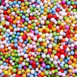 Пенопластовые шарики для слаймов купить в Киеве и Украине