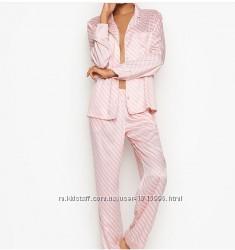 Victoria&acutes Secret Виктория Секрет пижама сатиновая
