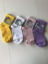 Цветные носки женские набор 4 пары 2177-2