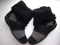 Ботинки зимние замшевые р. 36 полуботинки сапожки