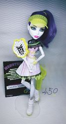 Куклы Monster High Спектра Вондергейст Лялька