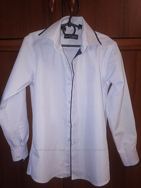 Рубашка белая 1-2класс