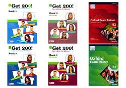 GET 200 book 1 2,  Oxford Exam Trainer B1, B2