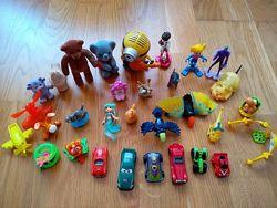 Мелкие игрушки, киндер, макдональдс