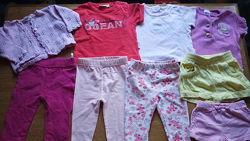 Пакет вещей Вещи для девочки 3-6 мес 62-68