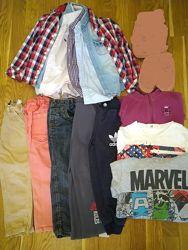 Пакет мальчику 104-110 джинсы штаны кофта рубашка