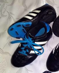 Adidas. Бутсы, копочки, шиповки для футбола, 19,5 см