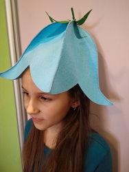 шляпка костюм квіточки дзвіночок колокольчик