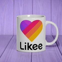Керамическая чашка LikeeTikTok Хорошего качества Ваши детки будут довольны