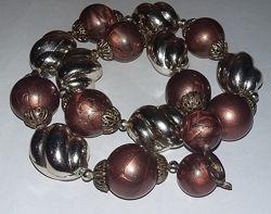 Бусы ожерелье колье винтаж