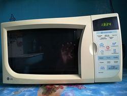 Микроволновая СВЧ печь LG. Микроволновка.