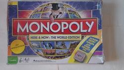 игра монополия Word edition jackpot некомплектная
