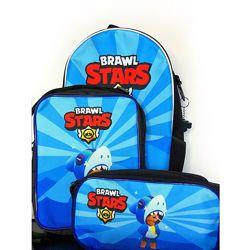Набор на подарок Бравл Старс Леон Акула Brawl Stars