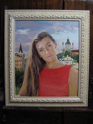Портреты маслом на заказ в Украине