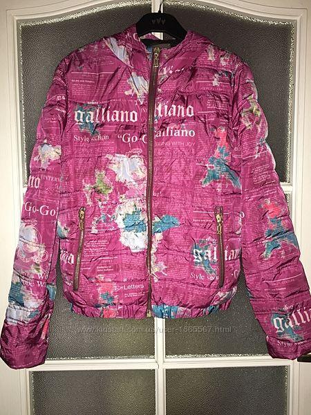 Куртка пуховик  Galliano оригинал р. s-m