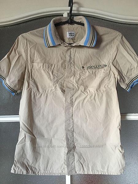 Рубашка Armani 10 лет