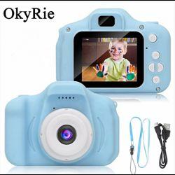 Детская Фото видеокамера c дисплеем 2.0 3Mpx, 1080P HD F3 Blue