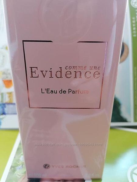 Evidence 100мл Ив Роше Yves Rocher Парфюмированная вода