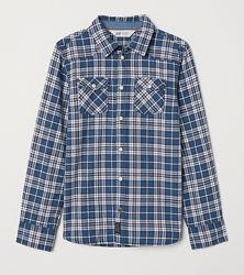 Рубашка H&M 0683588001 92 СМ  Синий 60013